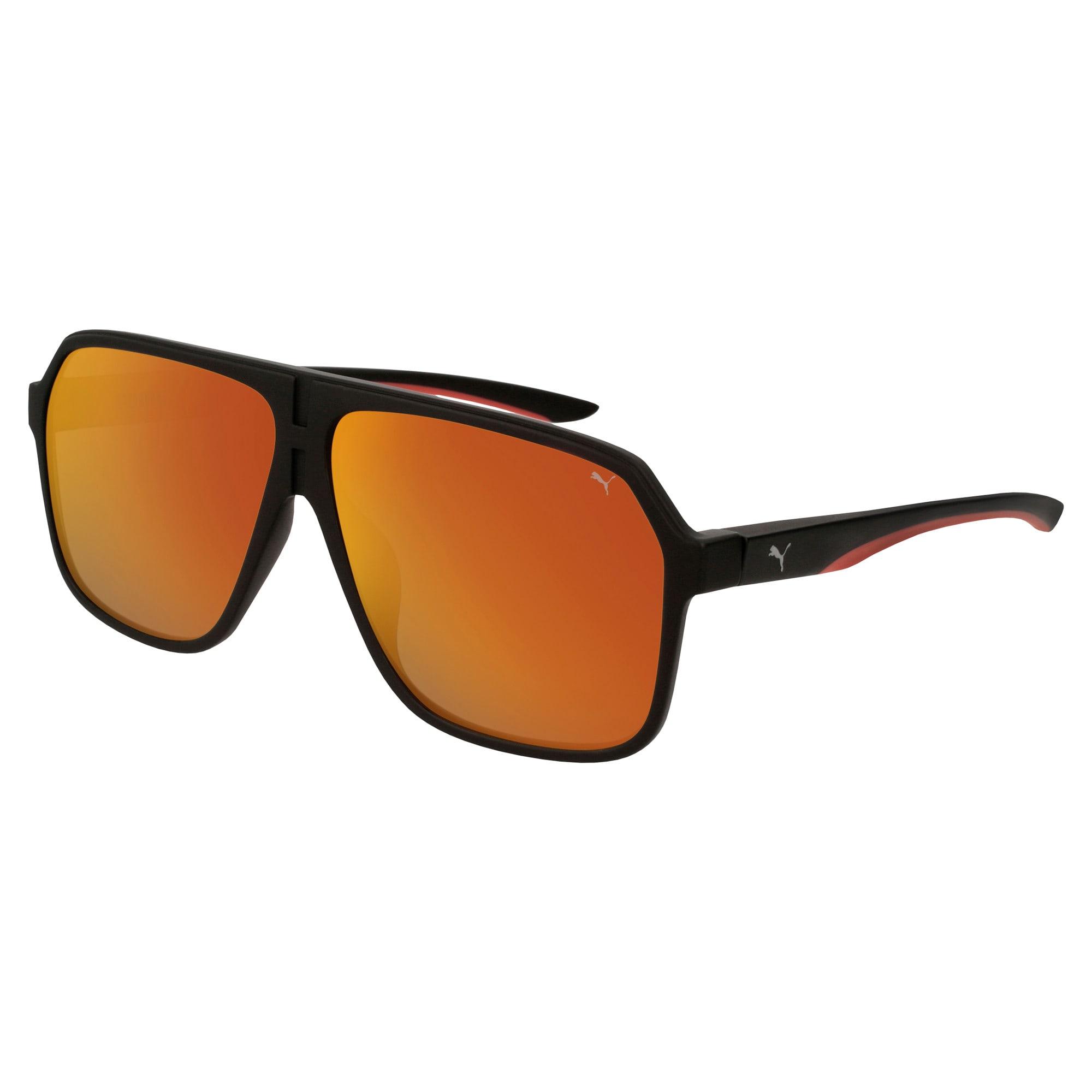 Thumbnail 1 of Men's Sunglasses, BLACK-BLACK-RED, medium