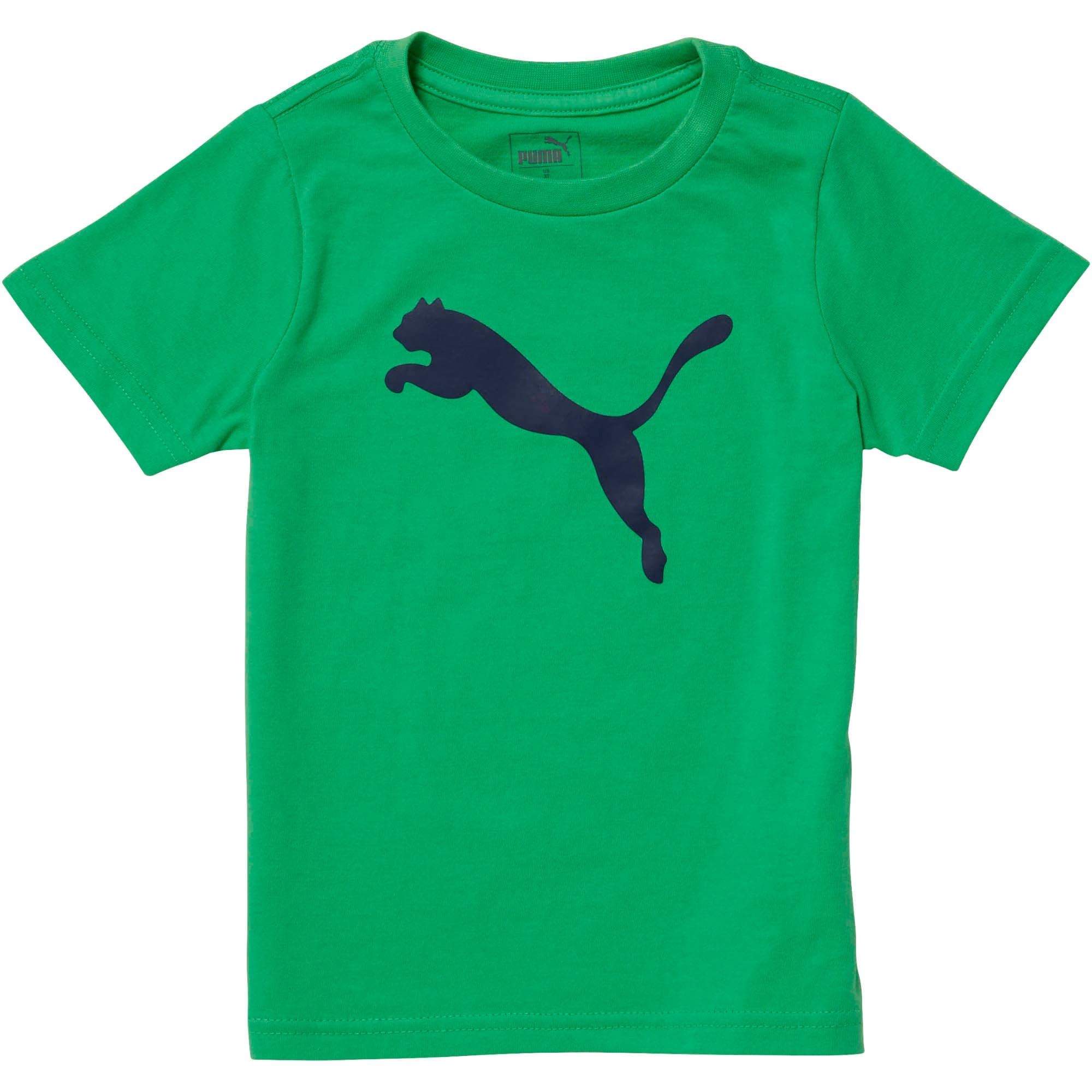 Miniatura 1 de Camiseta de jersey de algodón Heather para bebés, IRISH GREEN, mediano
