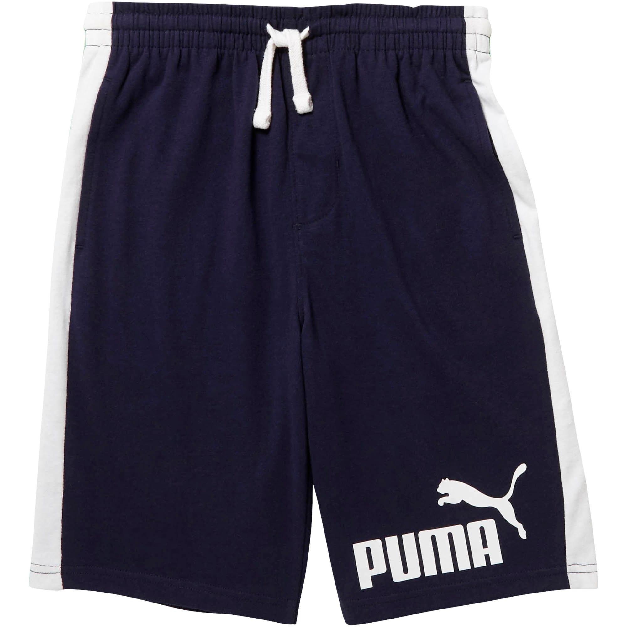Miniatura 1 de Shorts con retazos Cotton Heavy para niño joven, PEACOAT, mediano