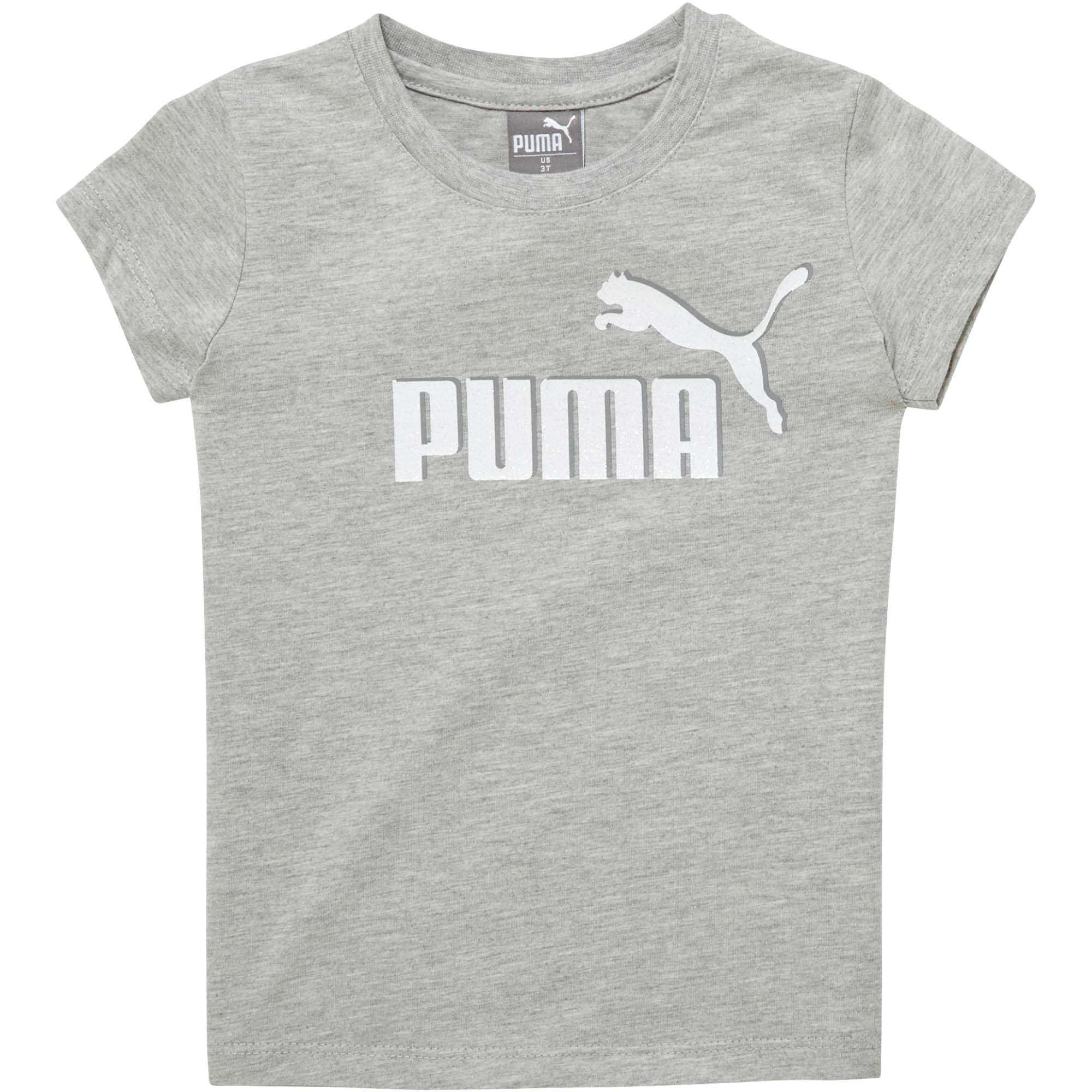 Miniatura 1 de Camiseta de jersey de algodón con logo para bebés, LIGHT HEATHER GREY, mediano