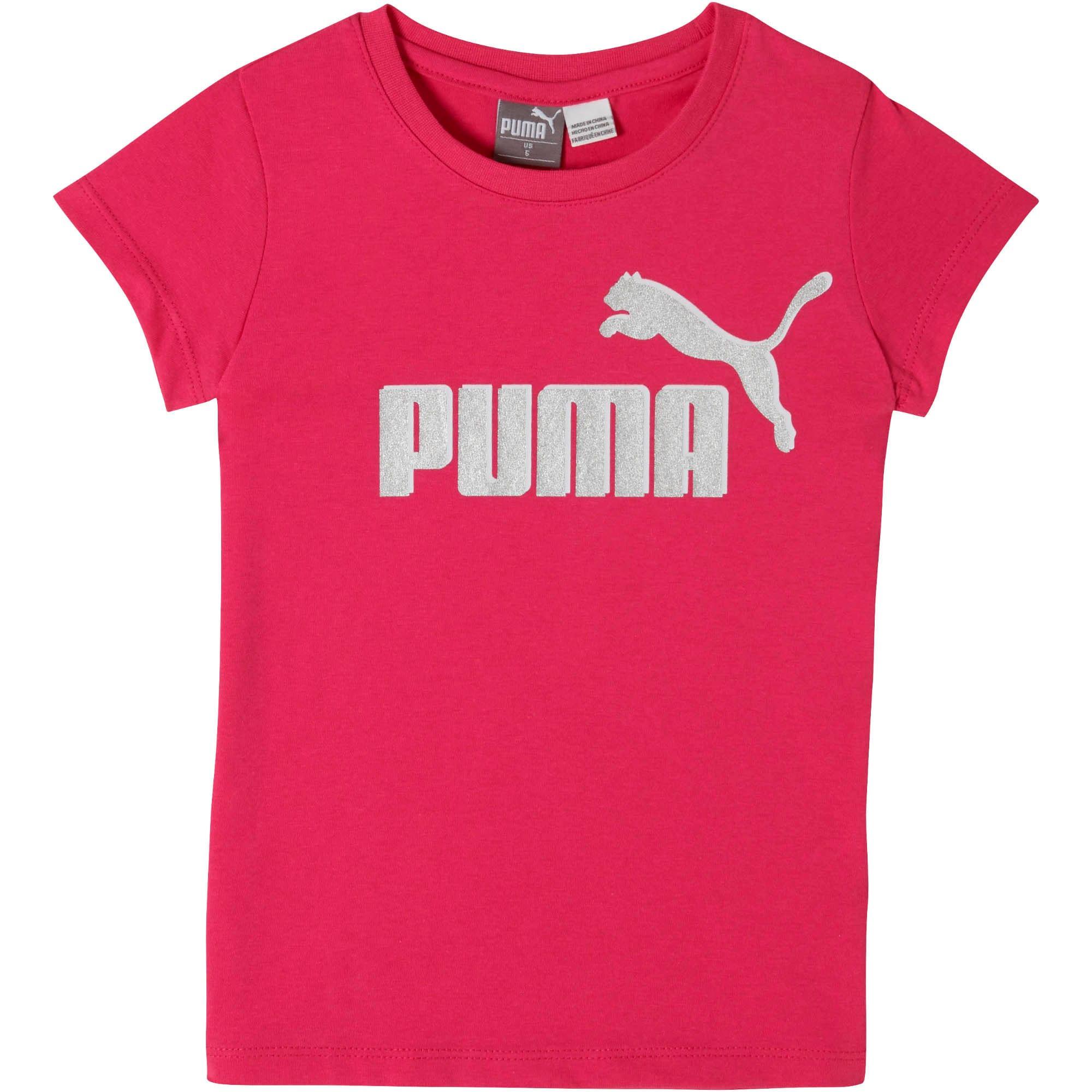 Miniatura 1 de Camiseta de jersey de algodón con logo para niños, FUSCHIA PURPLE, mediano