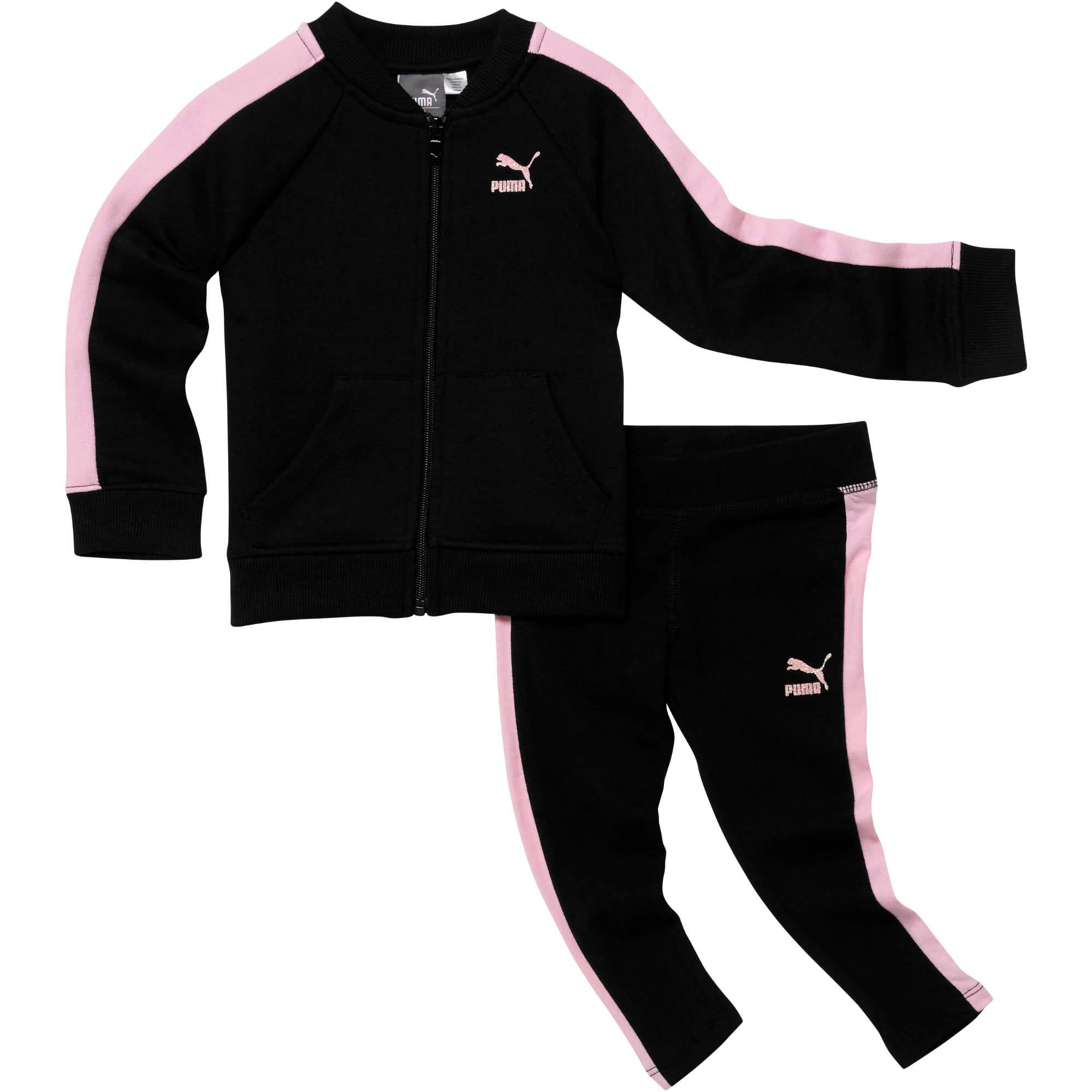 Miniatura 1 de Conjunto de dos piezas para infantes y bebés, PUMA BLACK, mediano