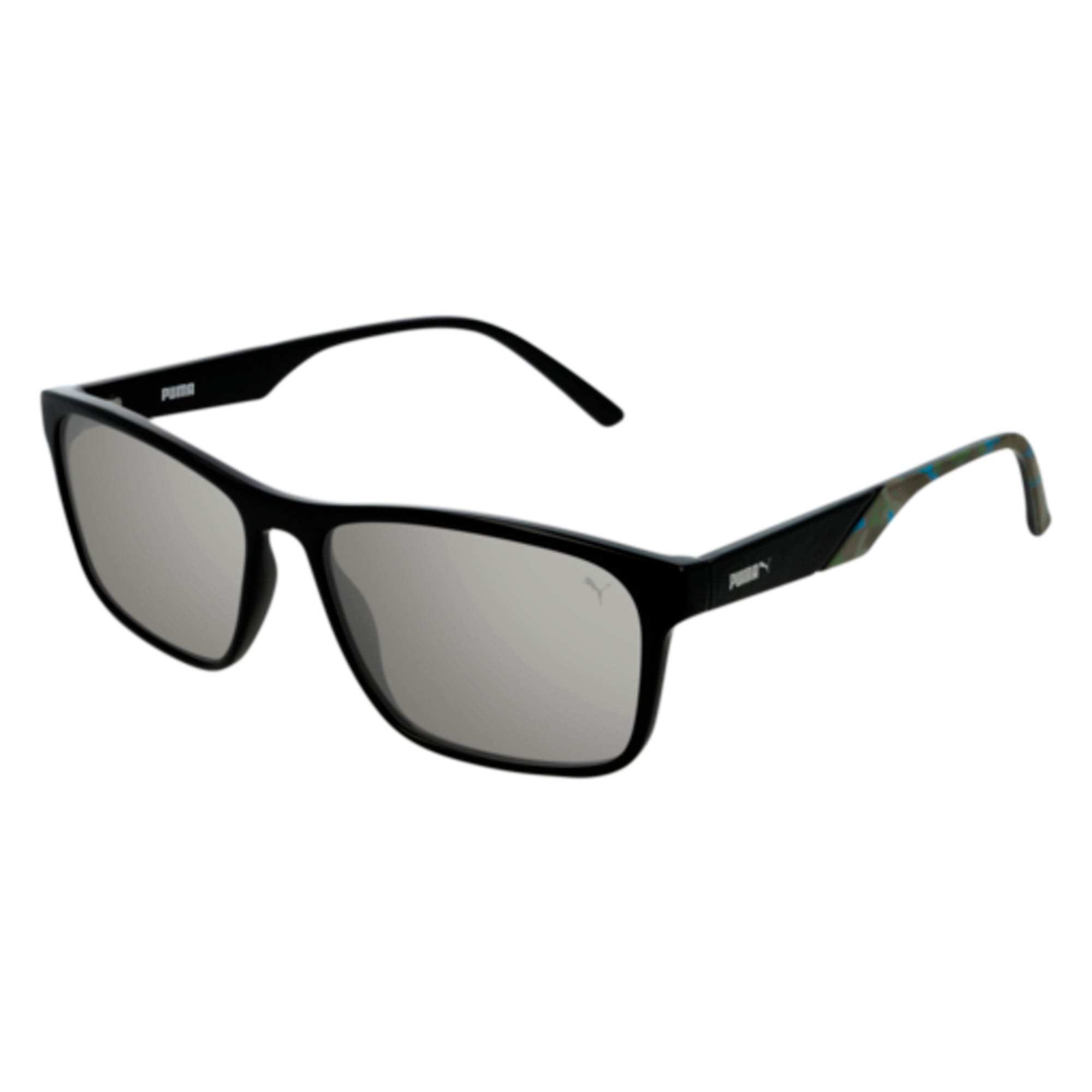 Thumbnail 1 of PUMA Classic Rectangle Sunglasses, BLACK, medium