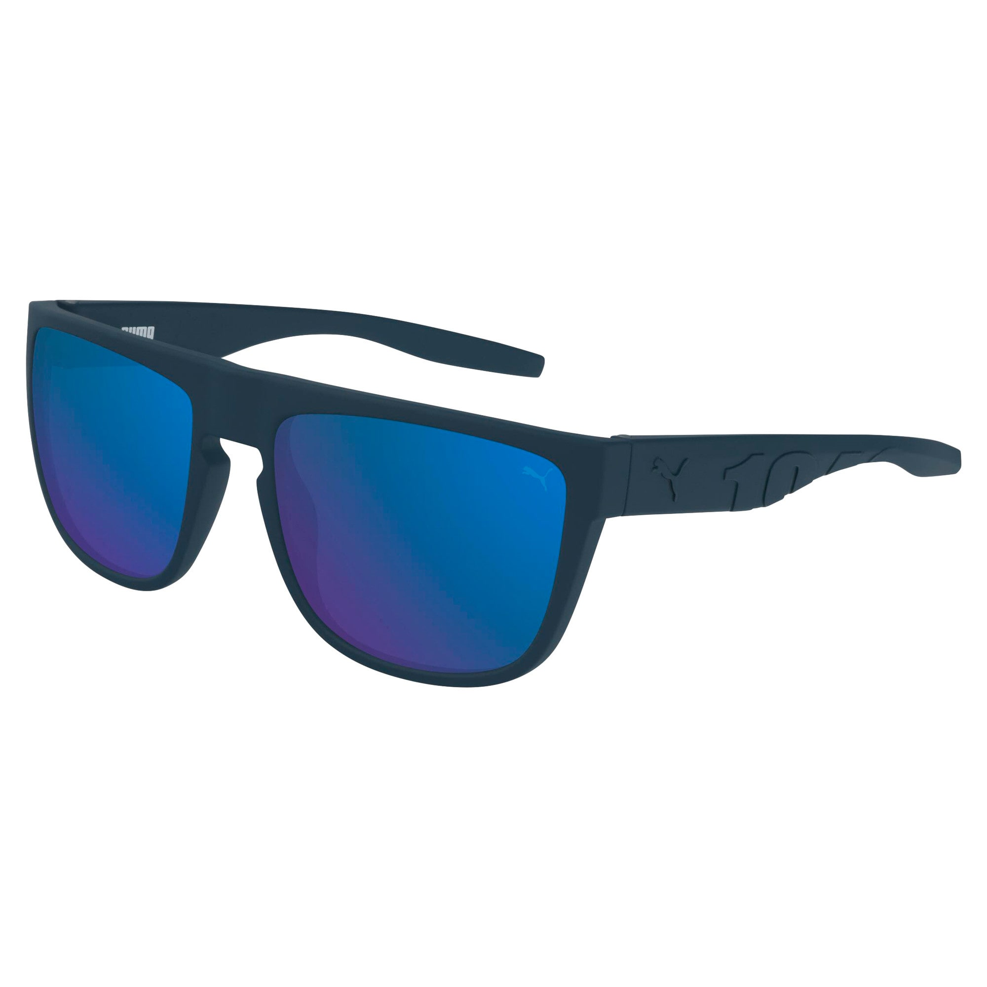 Thumbnail 1 of Men's Sunglasses, BLUE-BLUE-RED, medium
