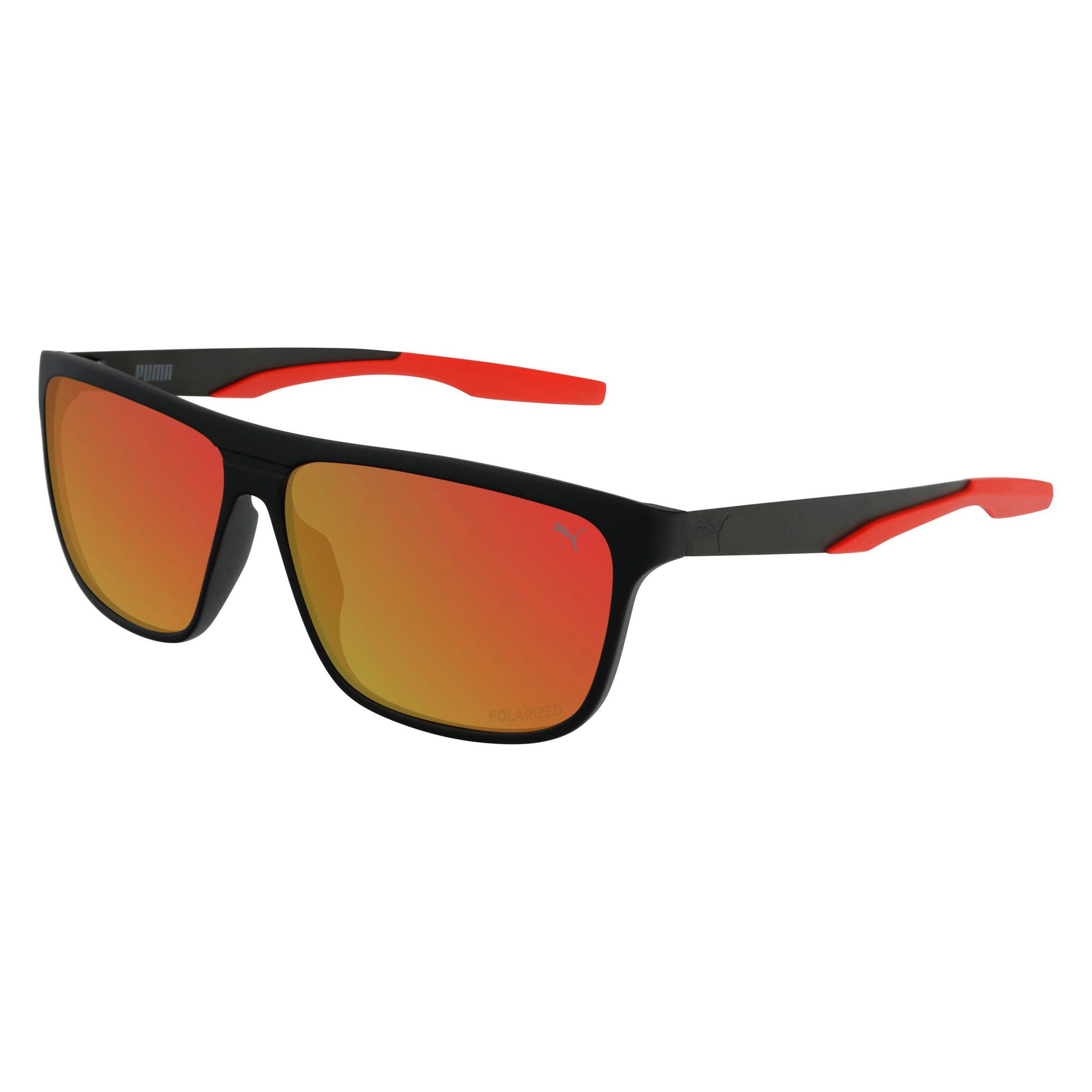 Thumbnail 1 of Laguna Sunglasses, BLACK-BLACK-RED, medium