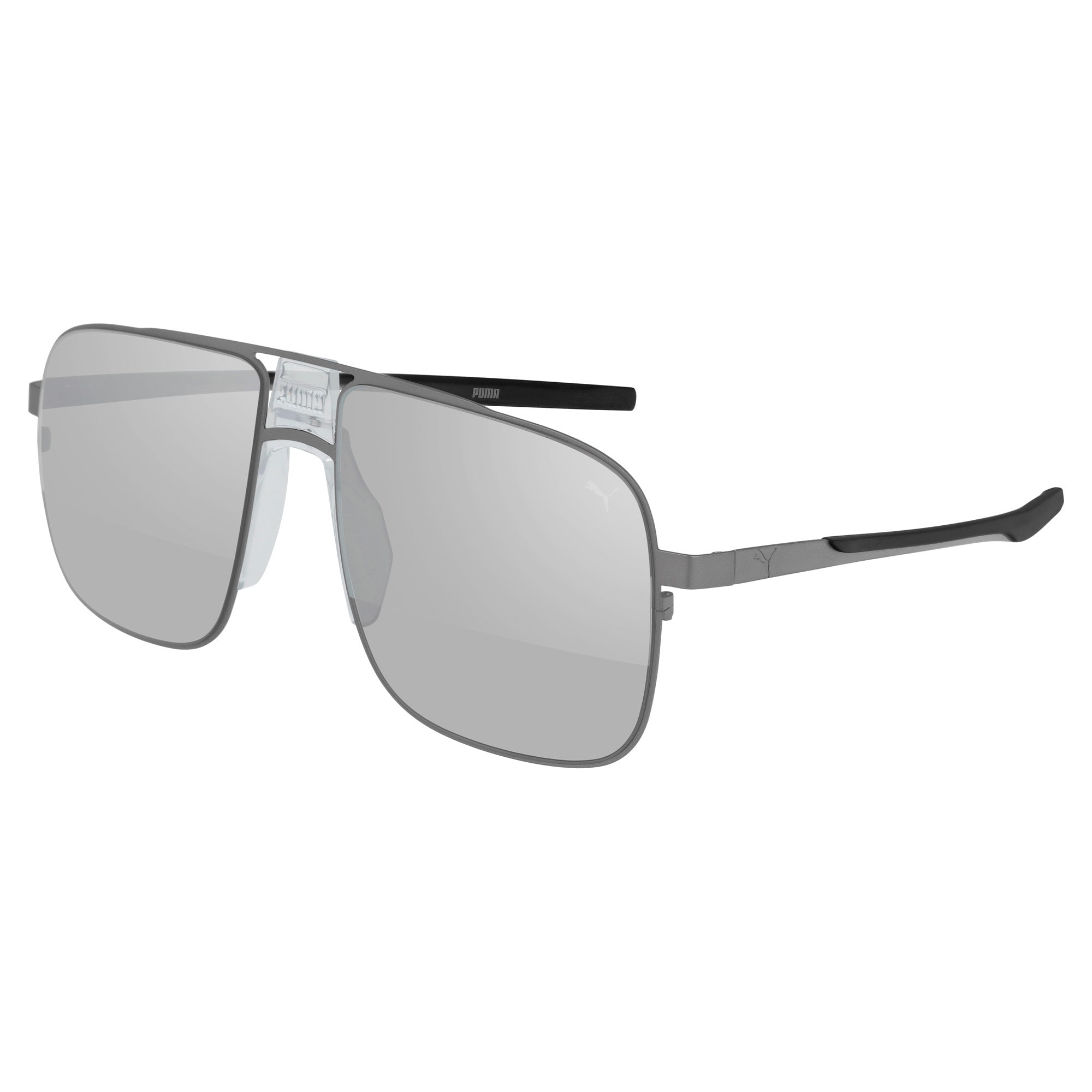 Thumbnail 1 of Men's Sunglasses, RUTHENIUM-RUTHENIUM-SILVER, medium