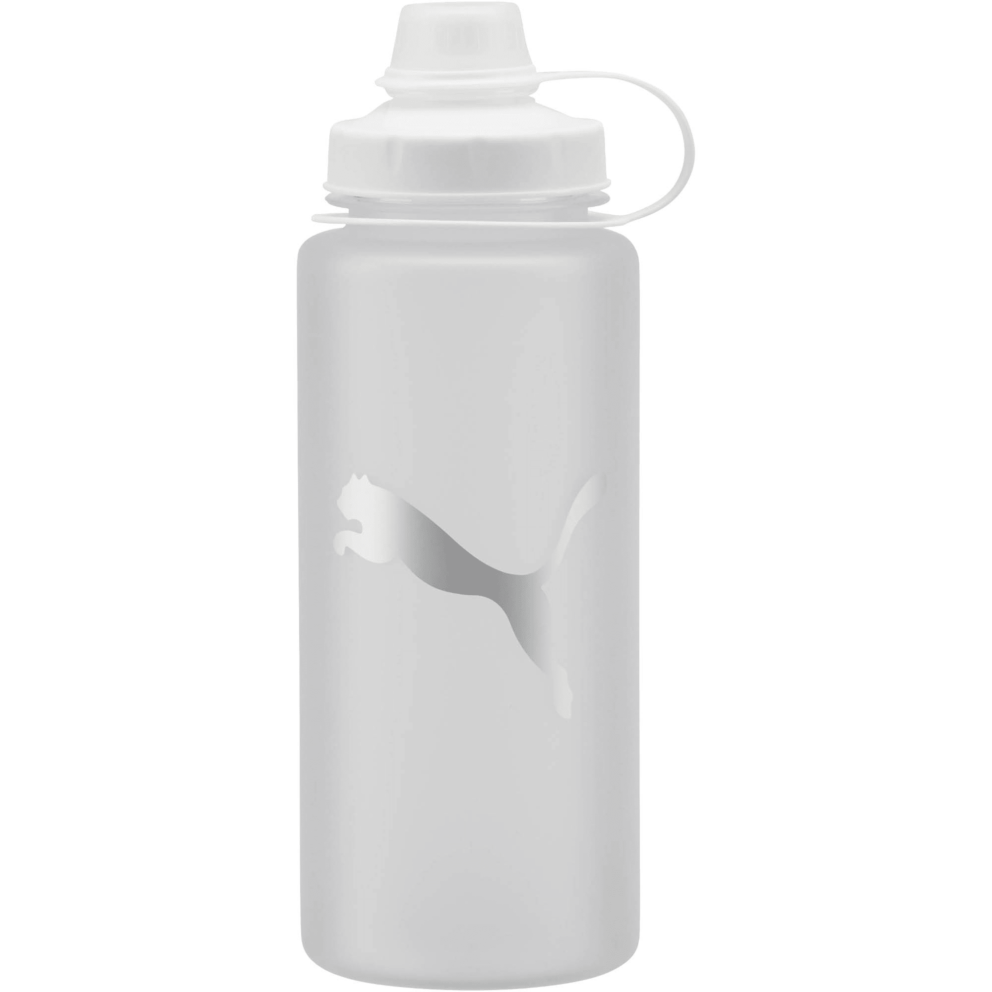 Thumbnail 1 of PUMA Little Shot Frosted 24 oz. Water Bottle, Frosted Silver, medium