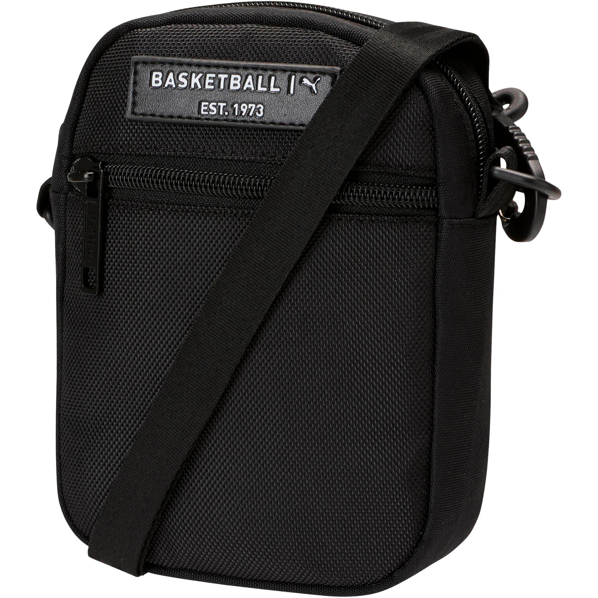 Thumbnail 1 of PUMA Solid Mini Crossbody Bag, Black, medium