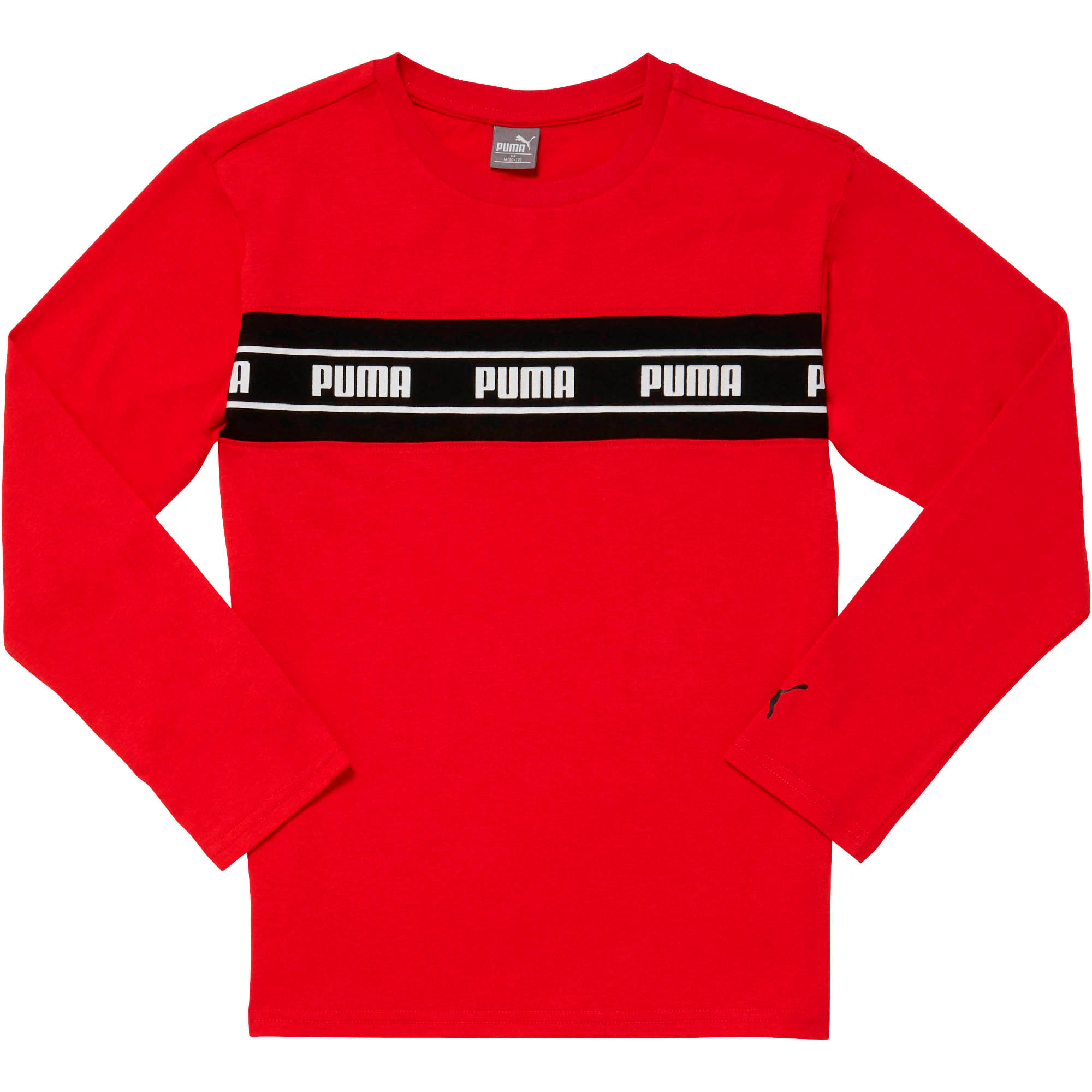 Thumbnail 1 of Amplified Pack Boys' Pieced Long Sleeve Tee JR, HIGH RISK RED, medium