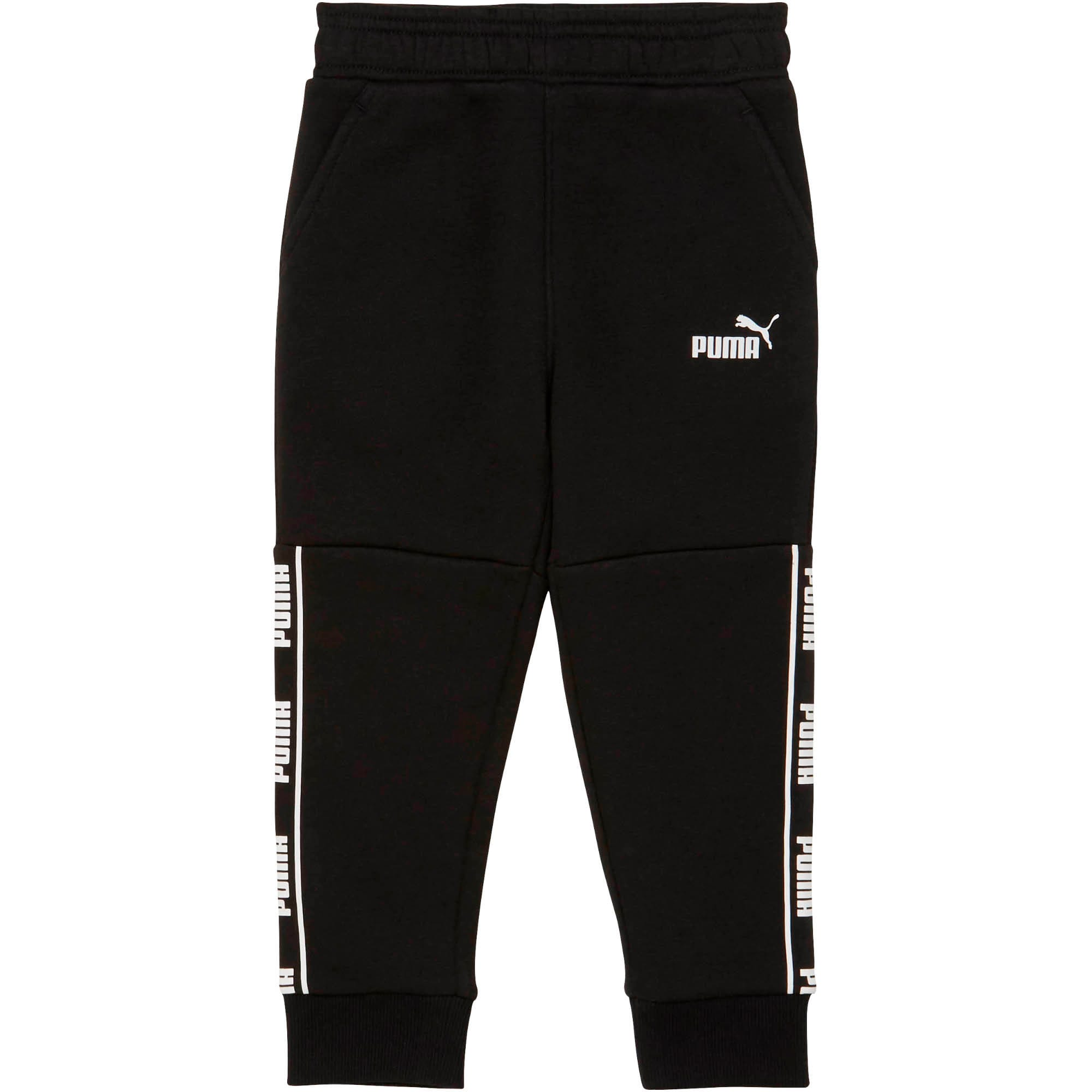Thumbnail 1 of Amplified Pack Toddler Fleece Joggers, PUMA BLACK, medium
