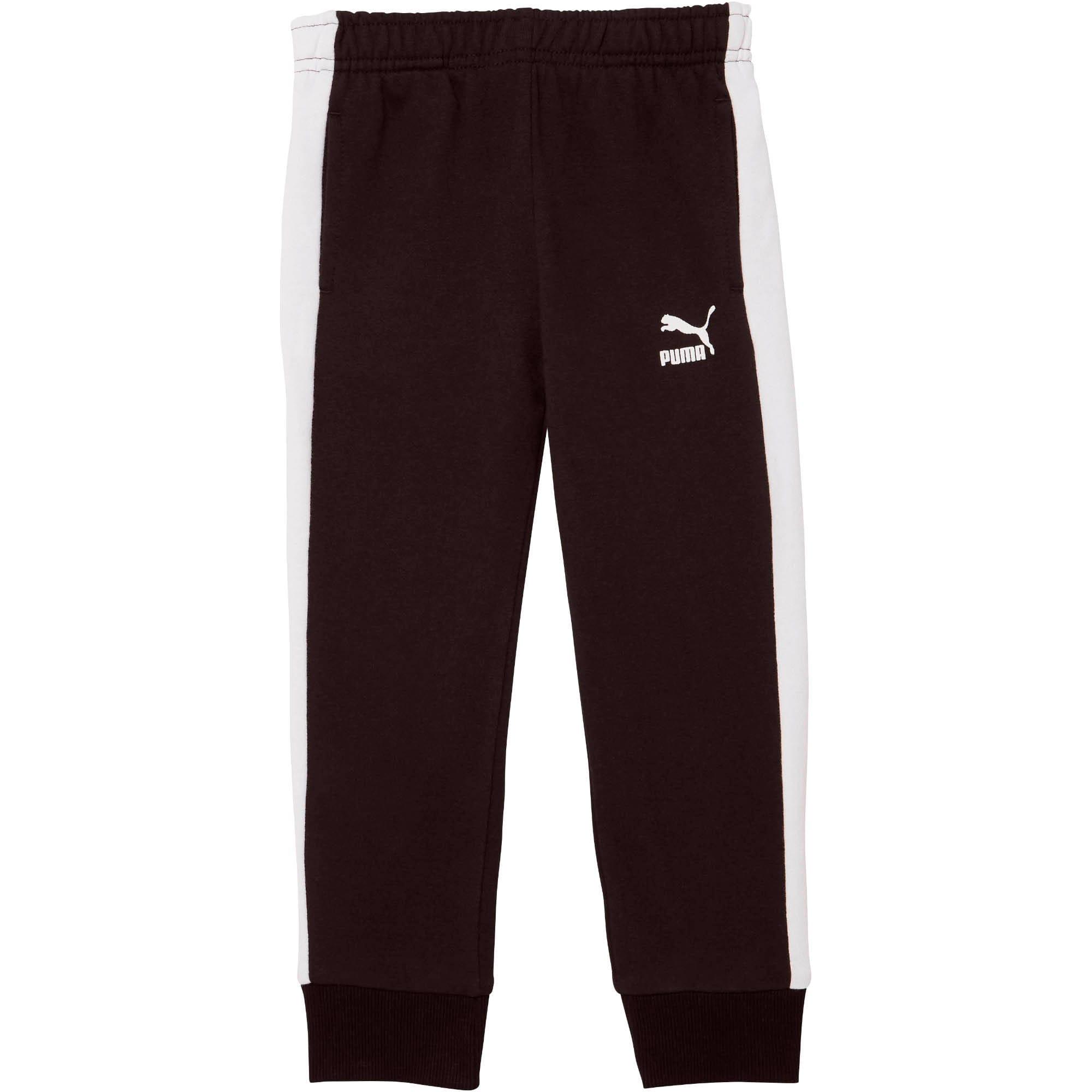 Vignette 1 de Pantalon de survêtement T7, tout-petit, PUMA BLACK/WHITE, moyen