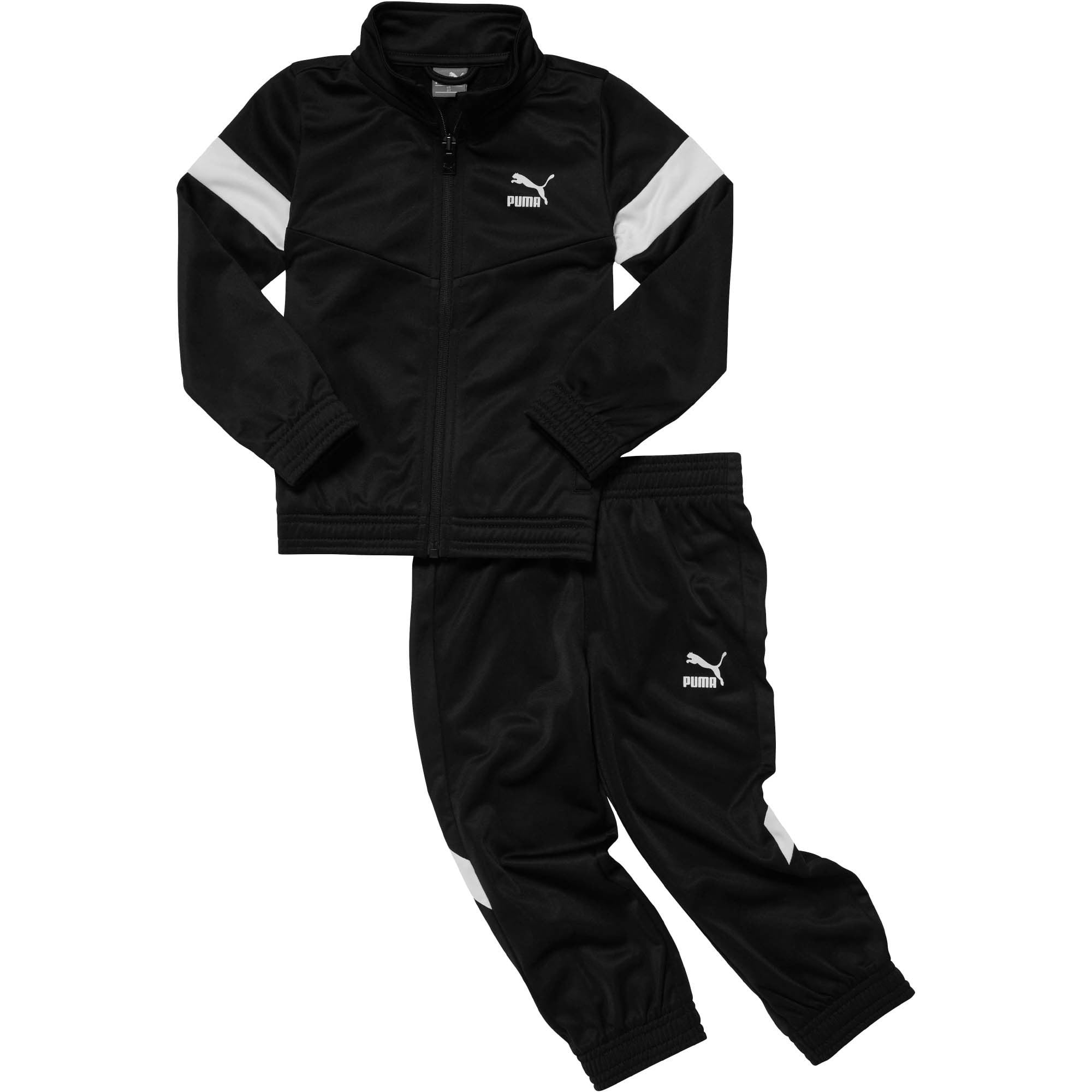Thumbnail 1 of MCS Pack Infant Colorblock Tracksuit Set, PUMA BLACK, medium