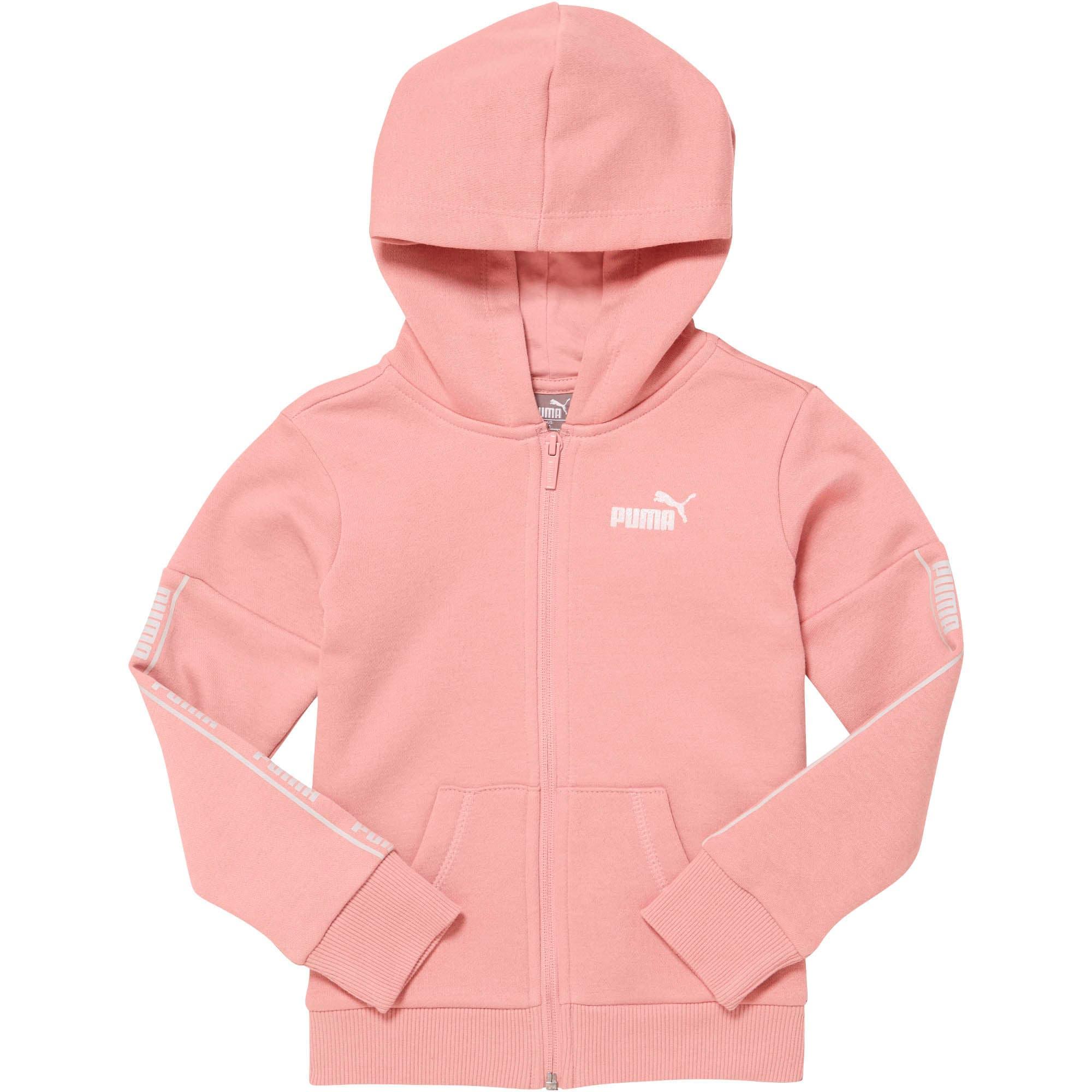 Thumbnail 1 of Amplified Pack Little Kids' Fleece Zip Up Hoodie, BRIDAL ROSE, medium