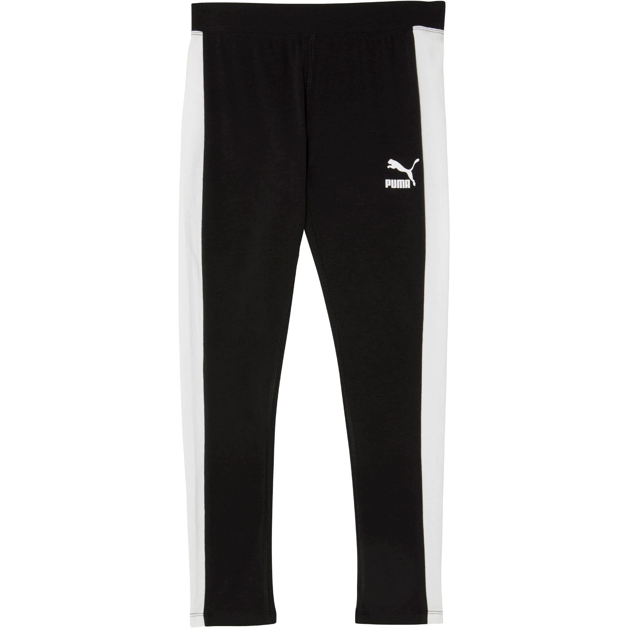Thumbnail 1 of LuXTG Pack Girls' T7 Leggings JR, PUMA BLACK, medium