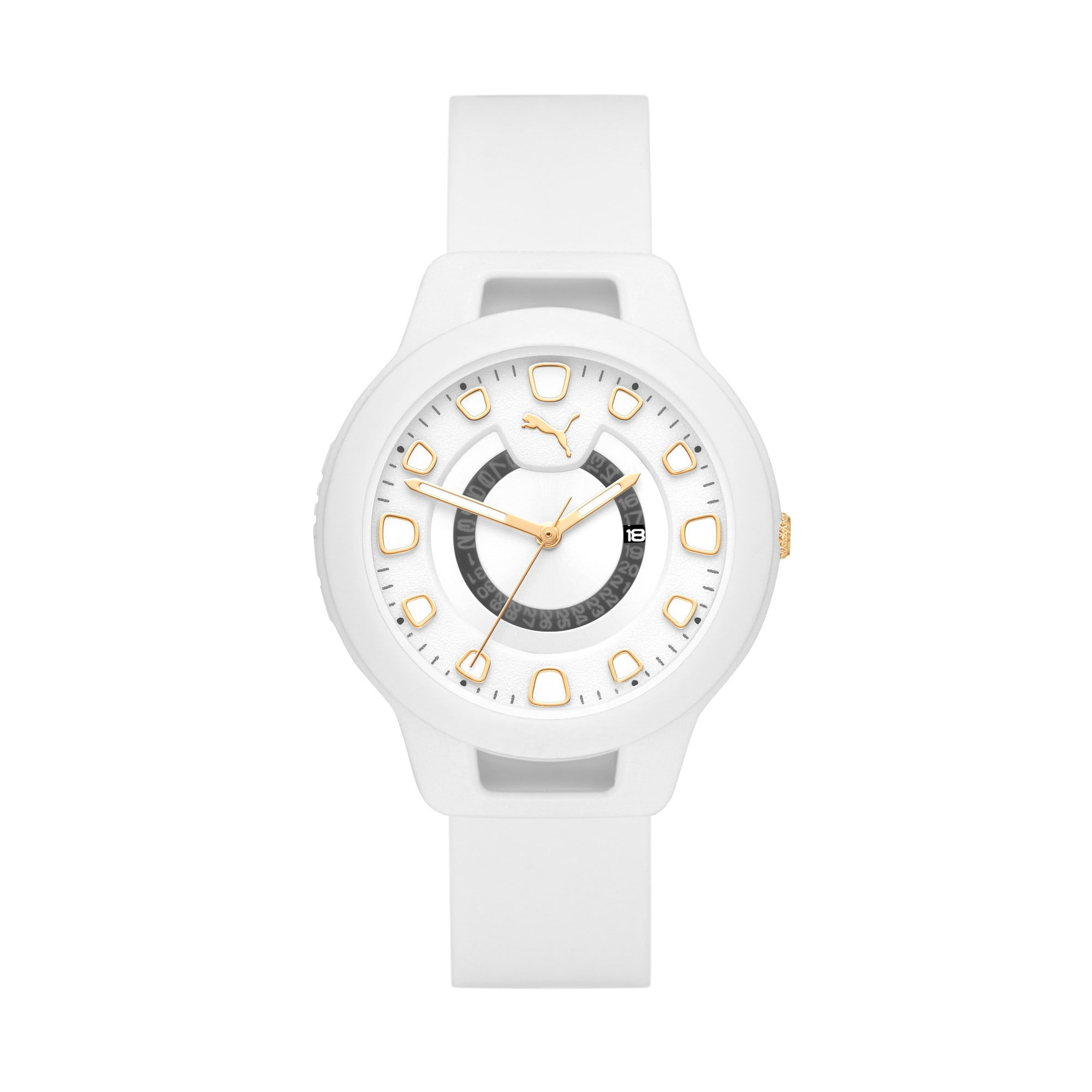 Thumbnail 1 of Reset v1 Watch, White/White, medium
