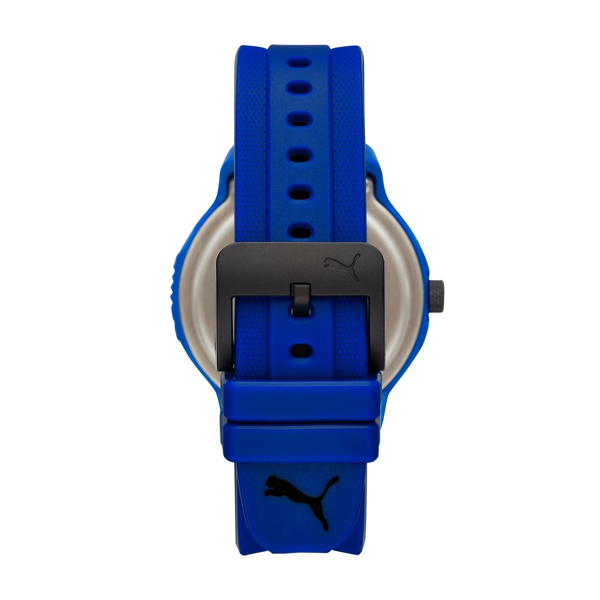 Thumbnail 2 of メンズ リセット ポリウレタン V2  時計, Blue/Blue, medium-JPN