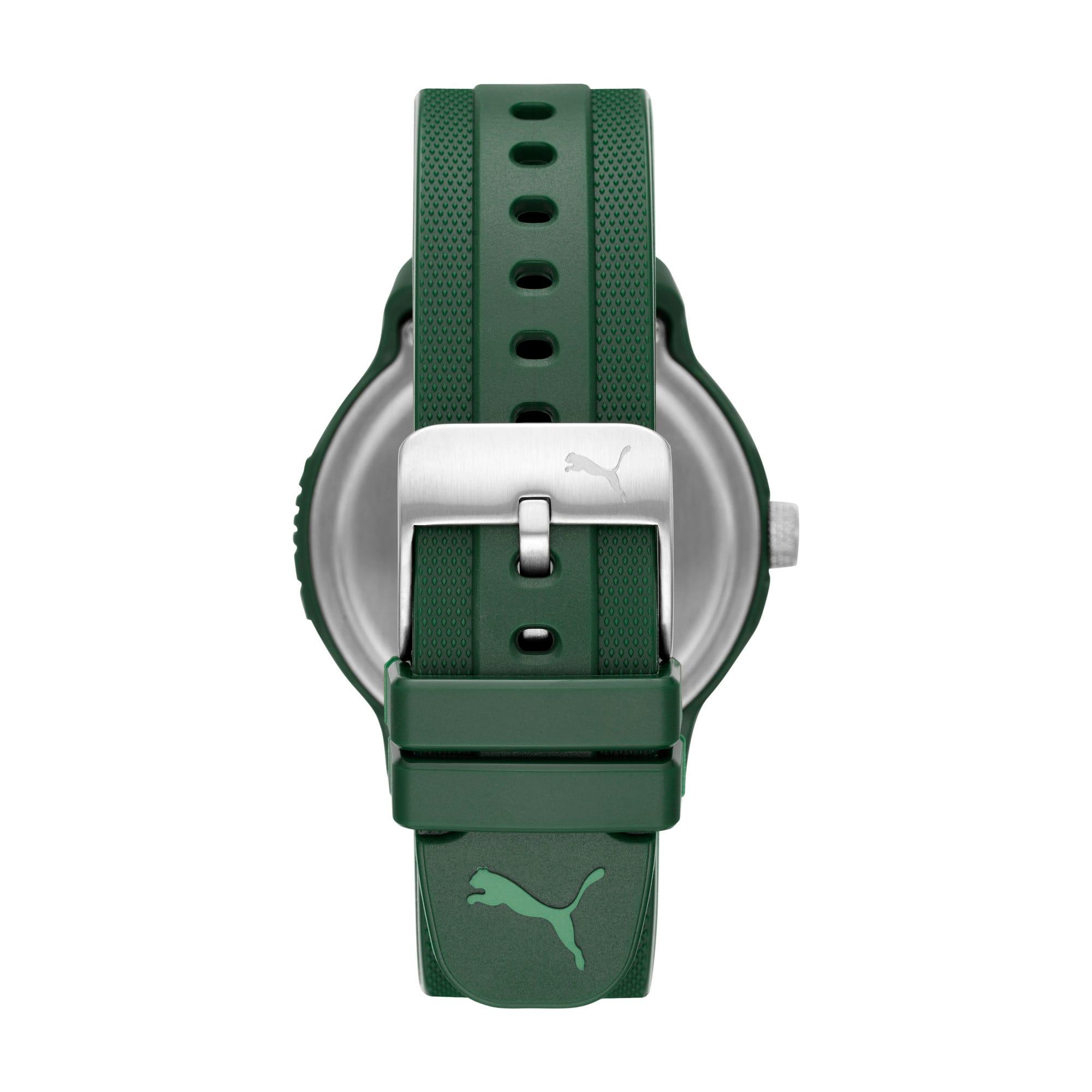 Thumbnail 2 of Reset Polyurethane V2 Herren Uhr, Green/Green, medium