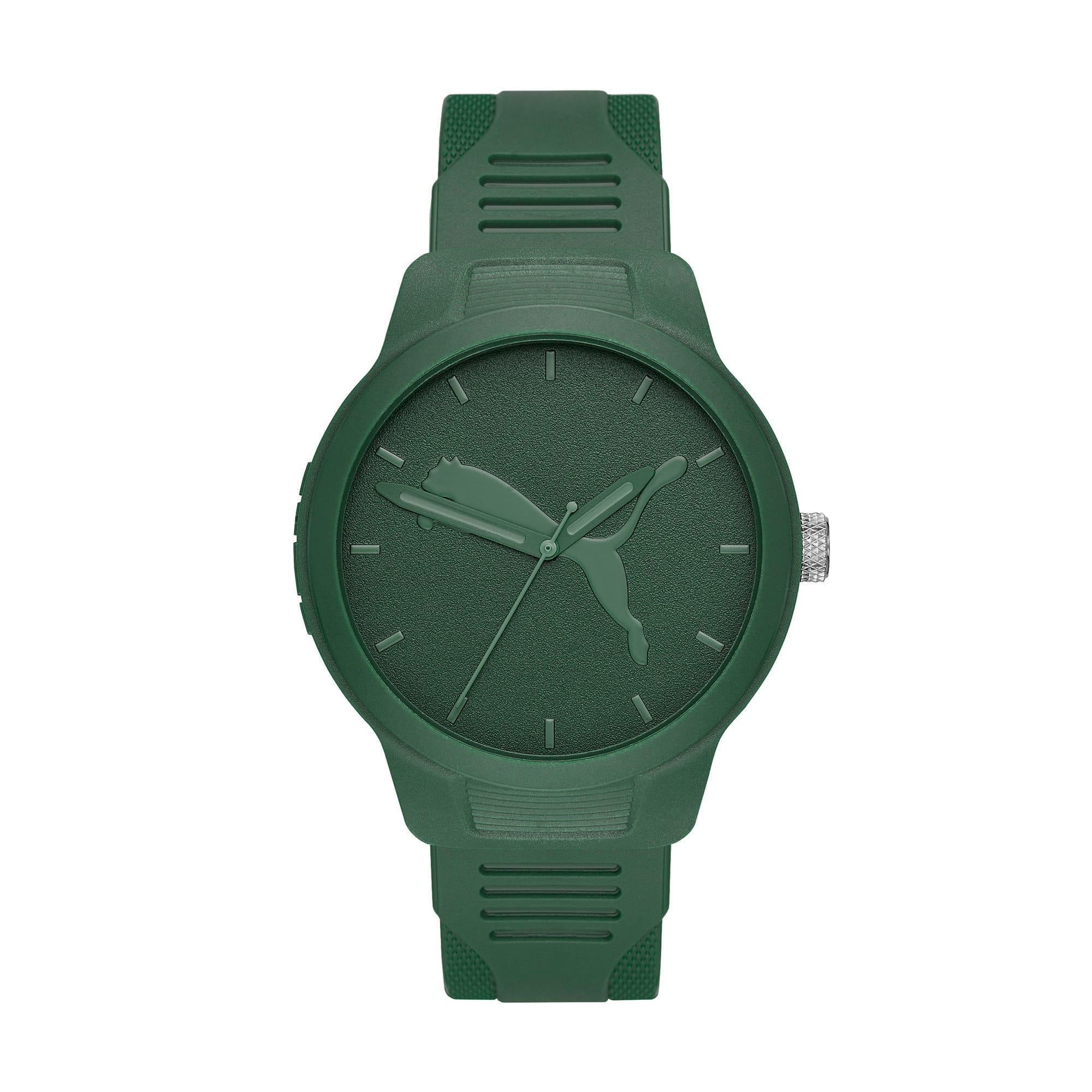 Thumbnail 1 of Reset v2 Watch, Green/Green, medium