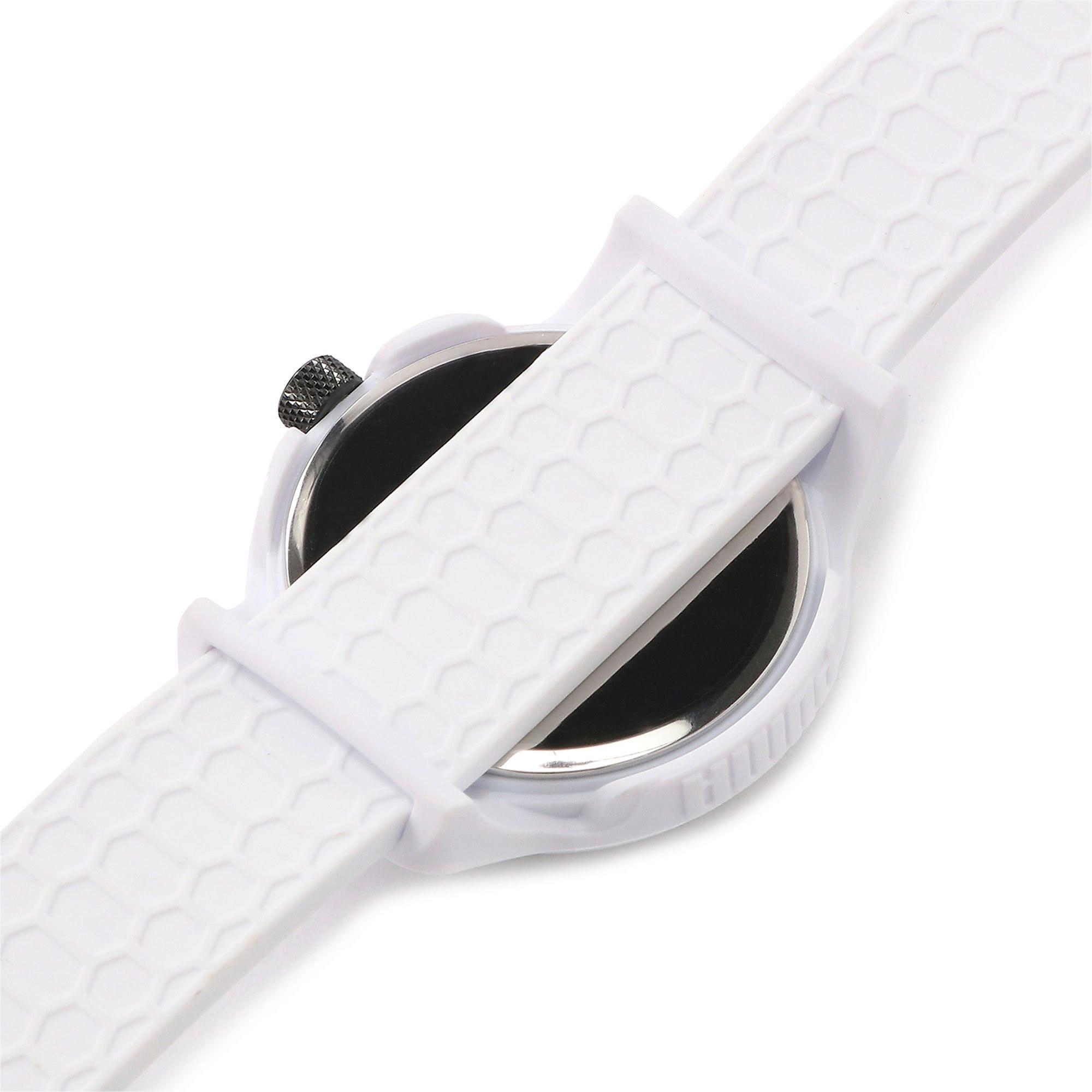 Thumbnail 7 of メンズ リセット シリコン V1  時計, White/White, medium-JPN