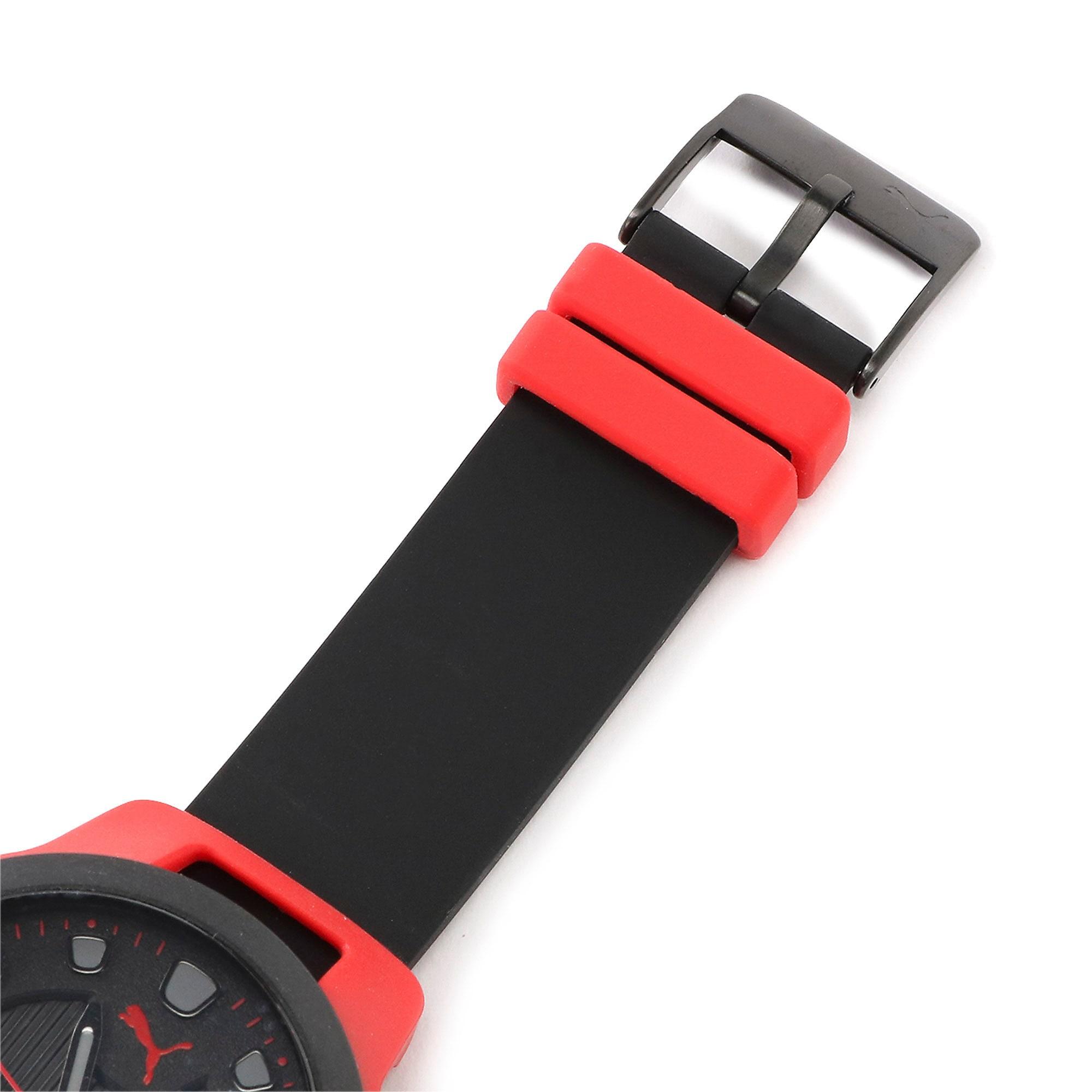 Thumbnail 5 of メンズ リセット シリコン V1  時計, Red/Black, medium-JPN