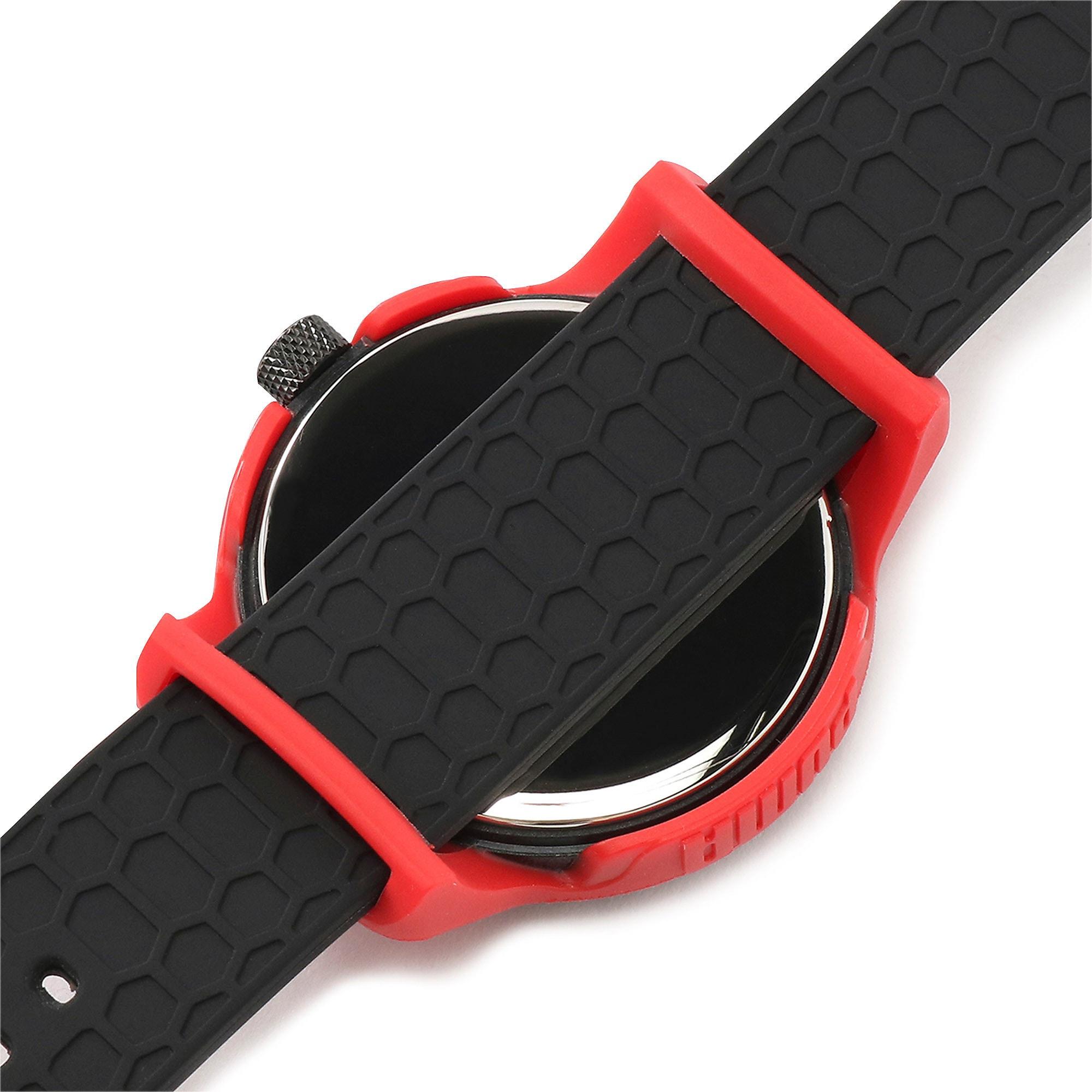 Thumbnail 7 of メンズ リセット シリコン V1  時計, Red/Black, medium-JPN