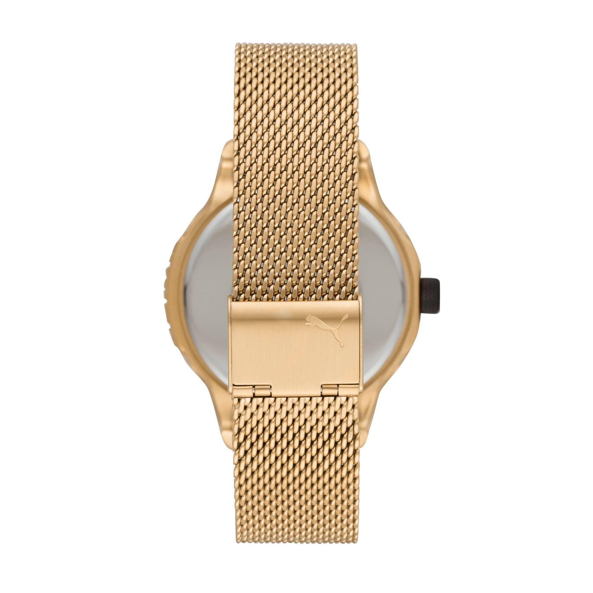 Thumbnail 3 of Reset v1 Watch, Gold/Gold, medium