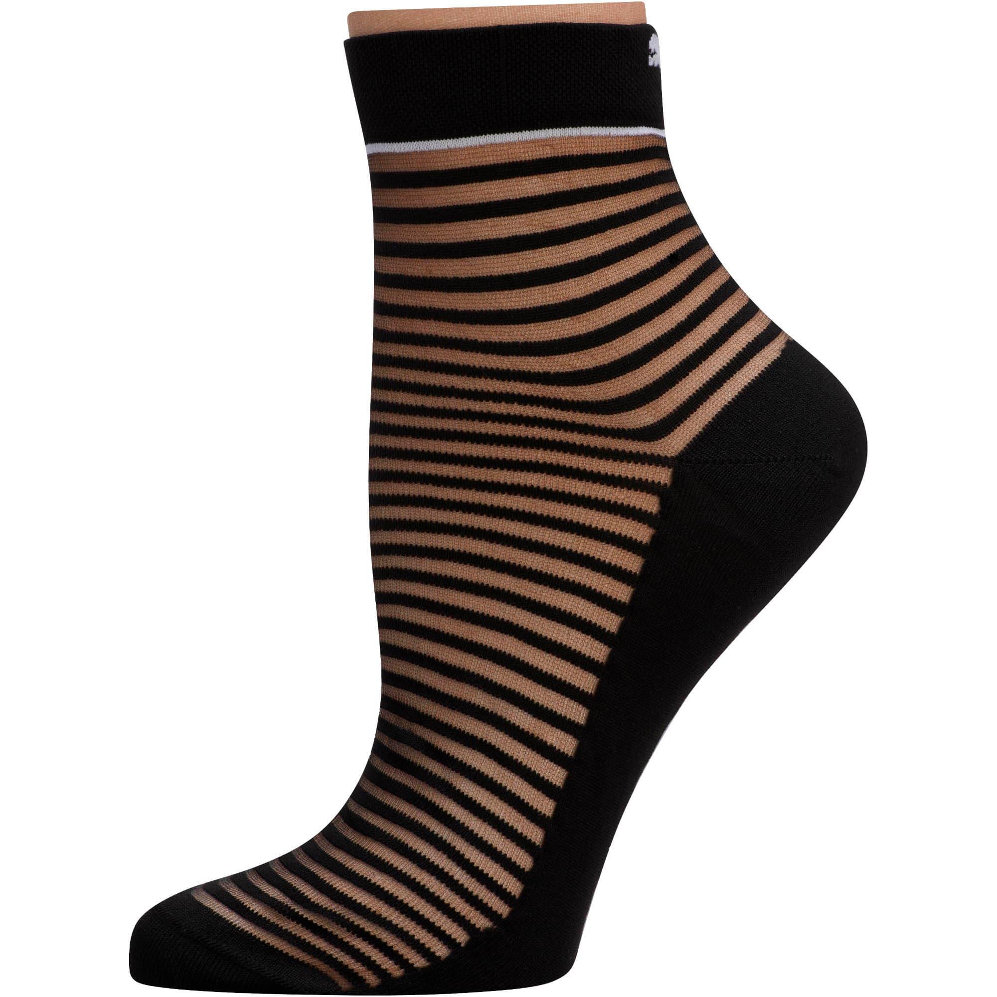 Thumbnail 1 of SG x PUMA Transparent Short Socks [1 Pair], Black, medium