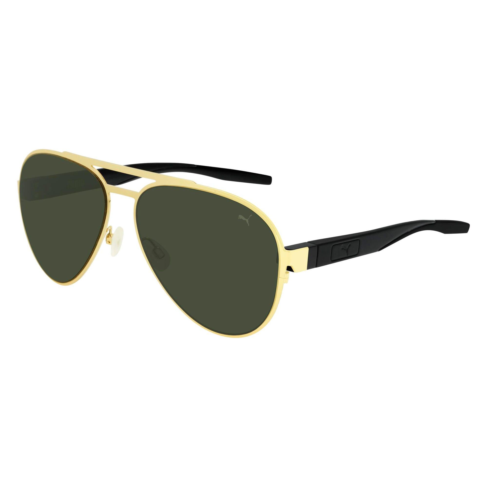 Thumbnail 1 of Vista Aviator Sunglasses, GOLD, medium