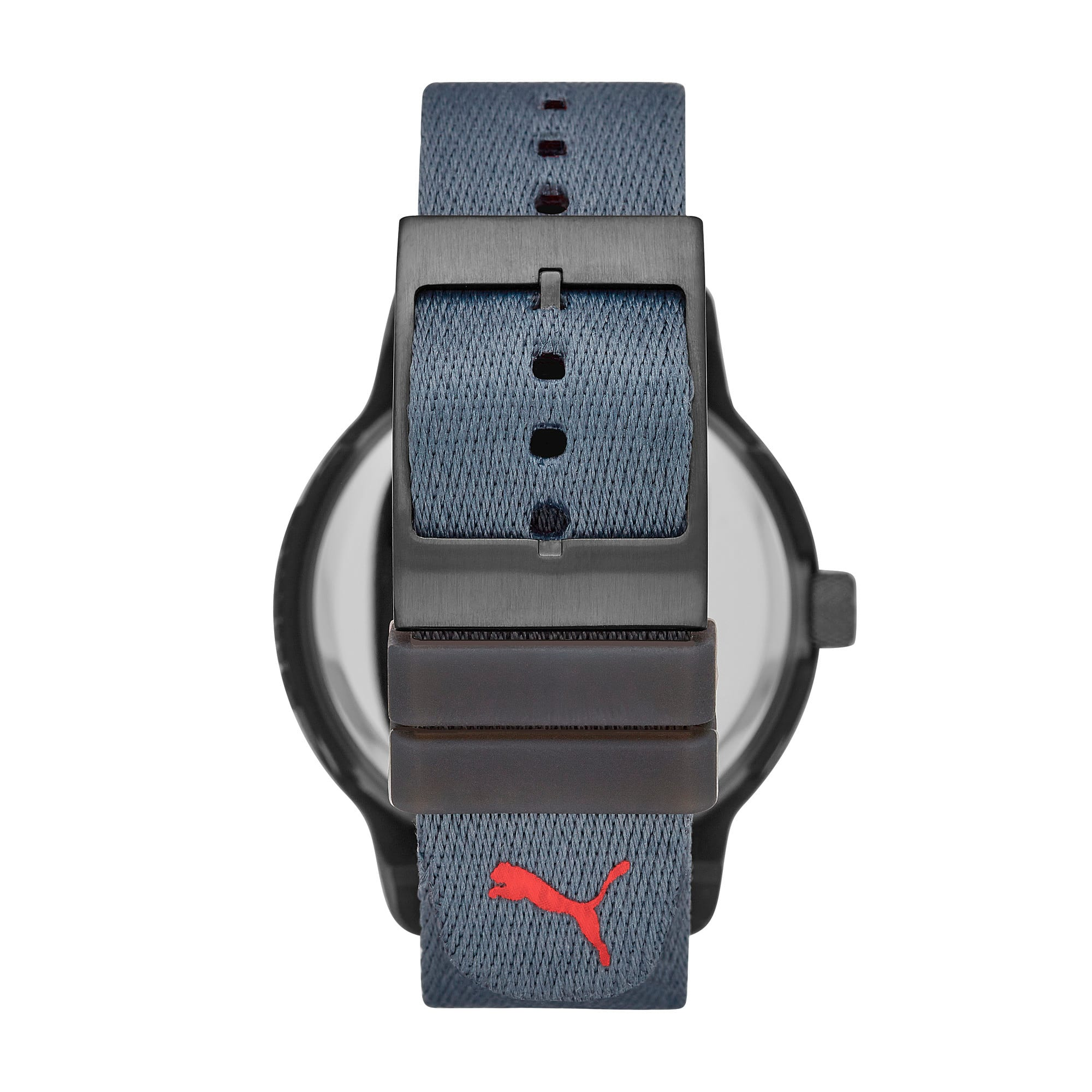 Thumbnail 2 of Reset v1 Reversible Watch, Blue/Red, medium