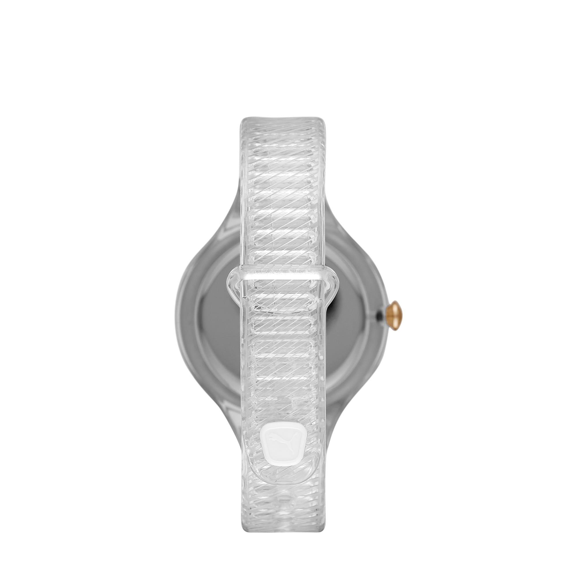 Thumbnail 2 of CONTOUR Ultra-Slim Damen Uhr, Clear/Clear, medium