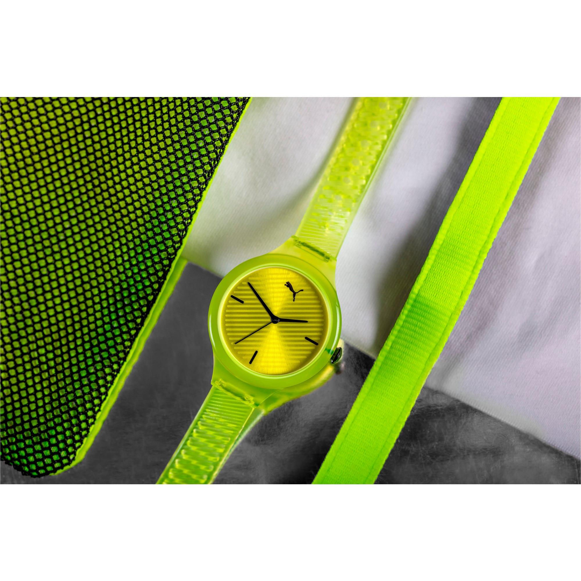 Thumbnail 5 of CONTOUR Ultra-Slim Damen Uhr, Yellow/Yellow, medium