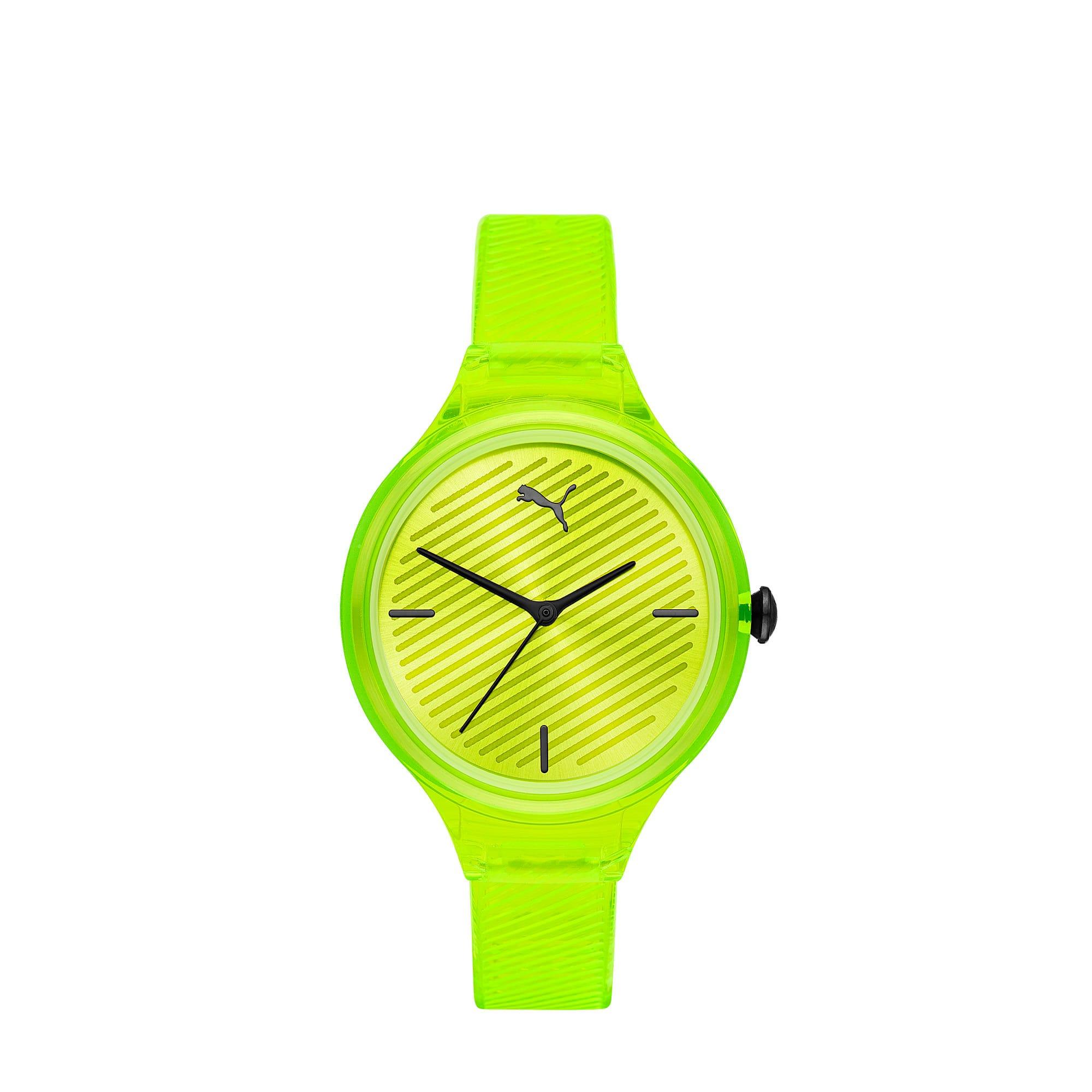 Thumbnail 1 of CONTOUR Ultra-Slim Damen Uhr, Yellow/Yellow, medium