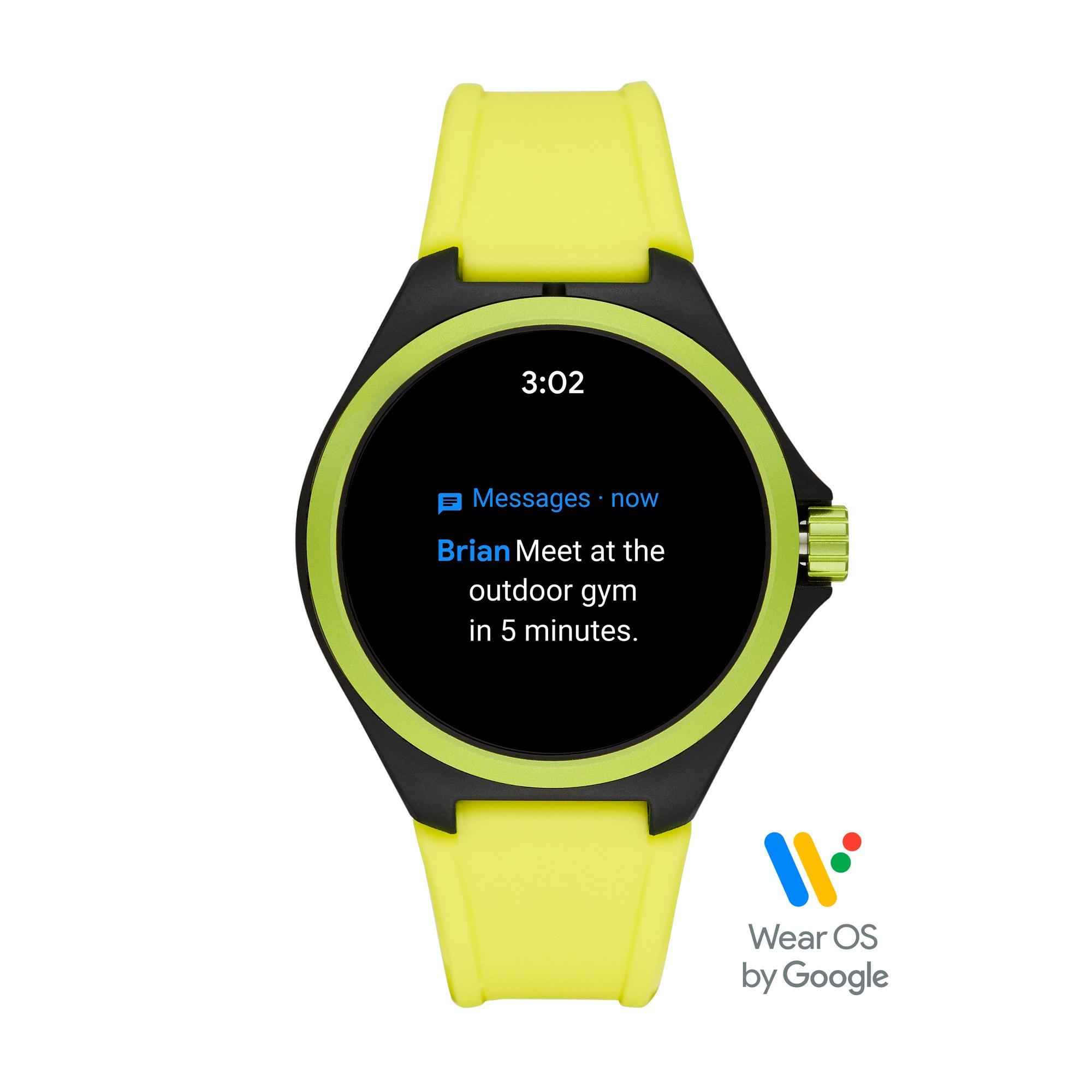Thumbnail 7 of PUMA Smartwatch, Yellow/Black, medium