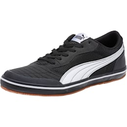Sale Outlet Mens Puma Esito Vulc Sala Suede Black White Neon