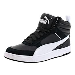 puma rebound street leather unisex adults' basketball shoes