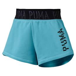 Shorts con logo para mujer