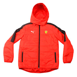 SF Kids T7 LW Padded Jacket Rosso Corsa