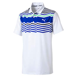 Road Map Men's Golf Polo