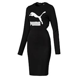 Vestido Classicsajustado con logo para mujer