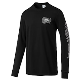 Downtown Men's Long Sleeve Graphic Tee