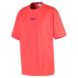 Camiseta cuadrada de hombre Evolution