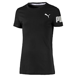 Dziewczęca nowoczesna sportowa koszulka z krótkim rękawem