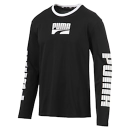 Rebel Bold Men's Long Sleeve Tee