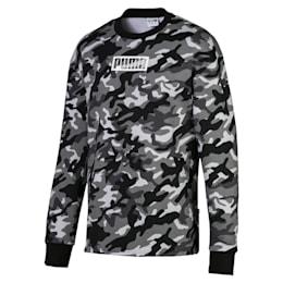 Rebel Camo Men's Fleece Crewneck Sweatshirt