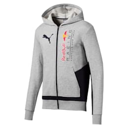 RBR Logo Hooded Men's Sweat Jacket
