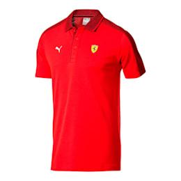 フェラーリ ミックス ポロシャツ 半袖