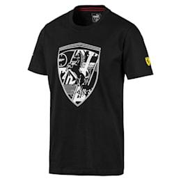 フェラーリ ビッグシールド Tシャツ + 半袖