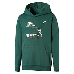 Streetwear hoodie met logo voor kinderen