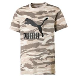 Streetwear T-shirt met camouflage voor kinderen