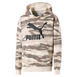 Streetwear hoodie met camouflage voor kinderen